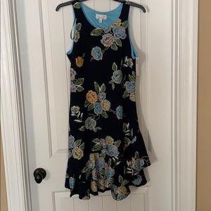 Floral Flouncy Dress